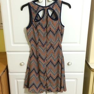 Colorful pattern dresses